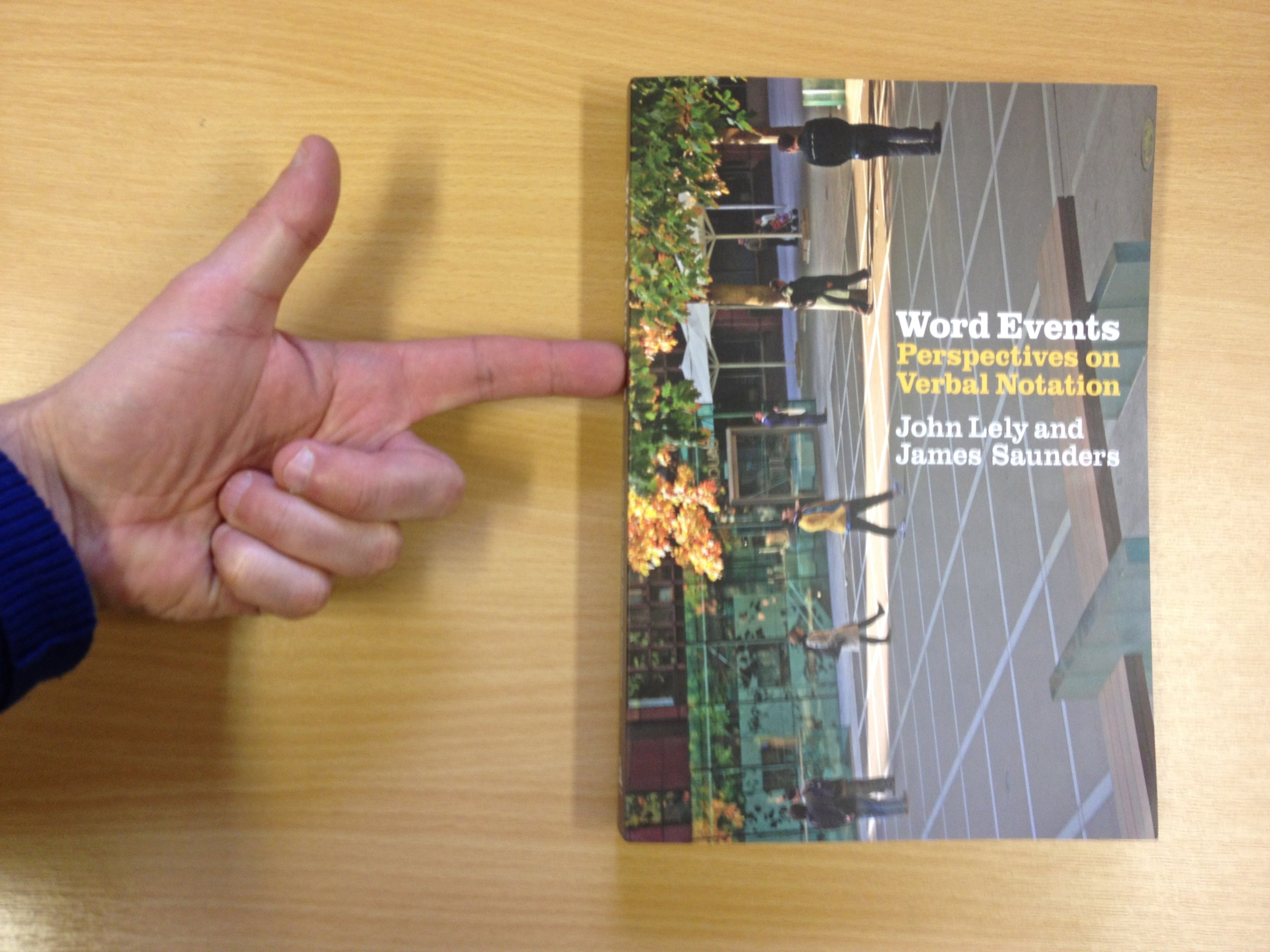 Word Events book published