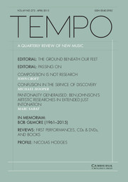 interview in Tempo