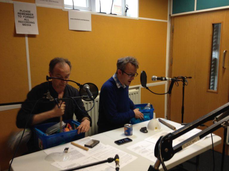 Parkinson Saunders in the studio